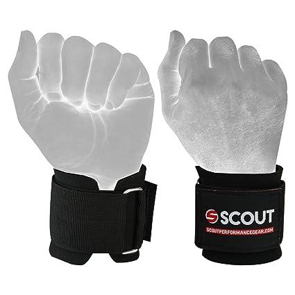 6fee54eec272d Amazon.com : ScoutPerformanceGear SPG Weight Lifting Neoprene Wrist ...