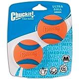 ChuckIt! Medium 2.5-Inch Ultra Balls, 2-Count