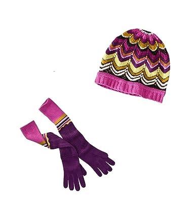 125023b8b9c Missoni for Target Women s Pointelle Zig Zag Long Gloves   Beanie Set -  Passione