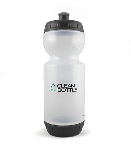 Firefox Clean Bottle 22-Ounce Water Bottle (Black/Clear)