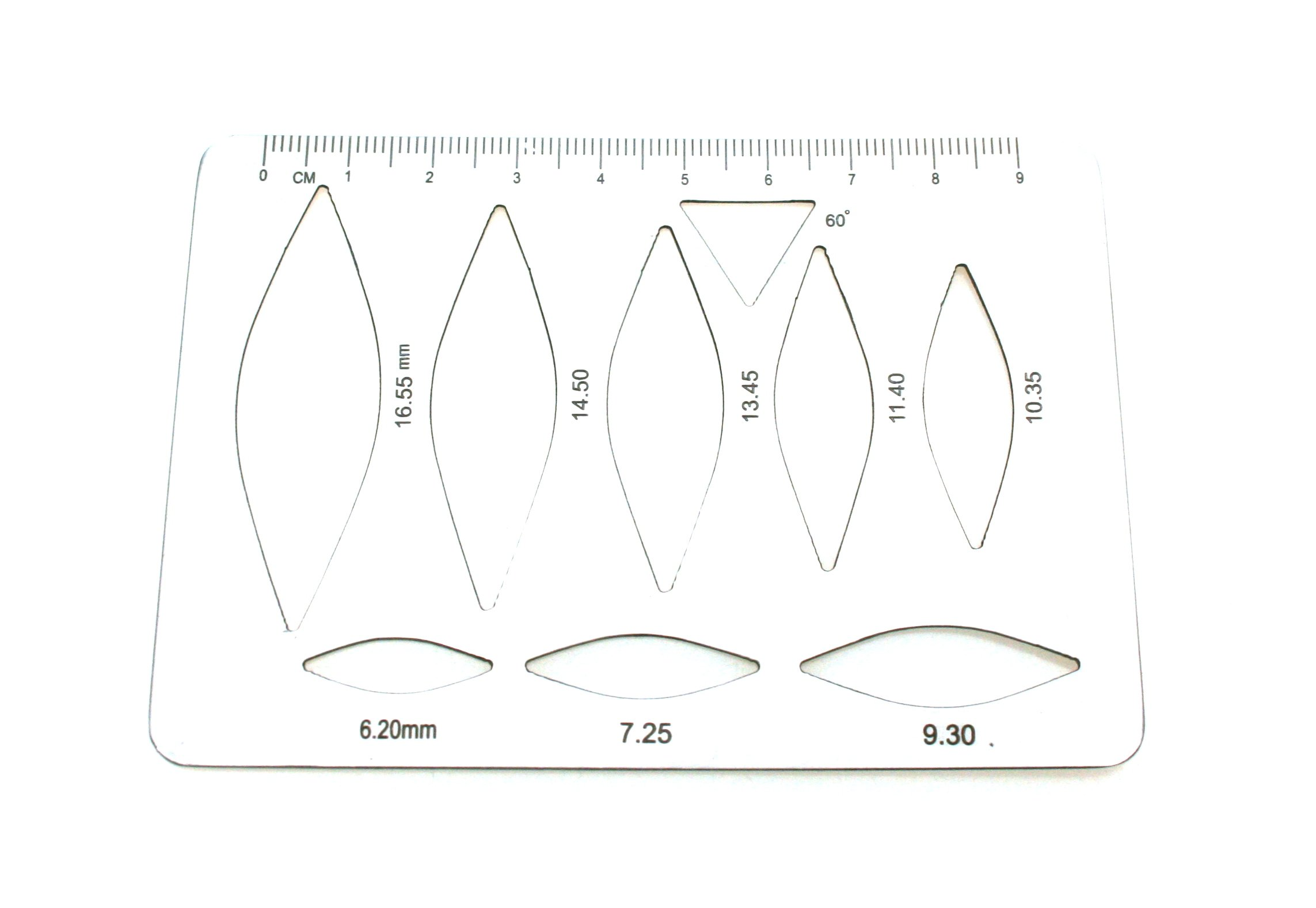Surgical Template for Marking & Measuring Flexible Stainless Steel | Medixplus