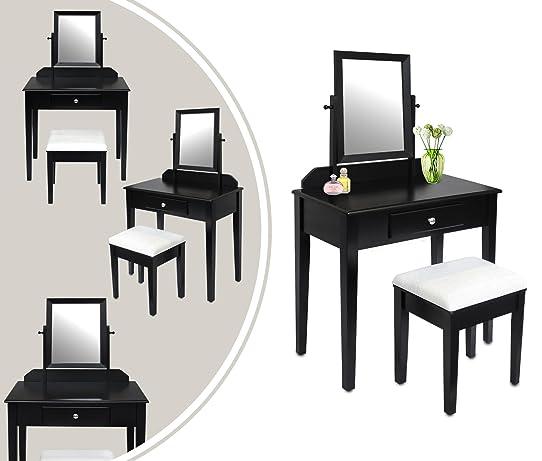 coiffeuse moderne noire meuble coifeuse lotsofstyle info with coiffeuse moderne noire. Black Bedroom Furniture Sets. Home Design Ideas