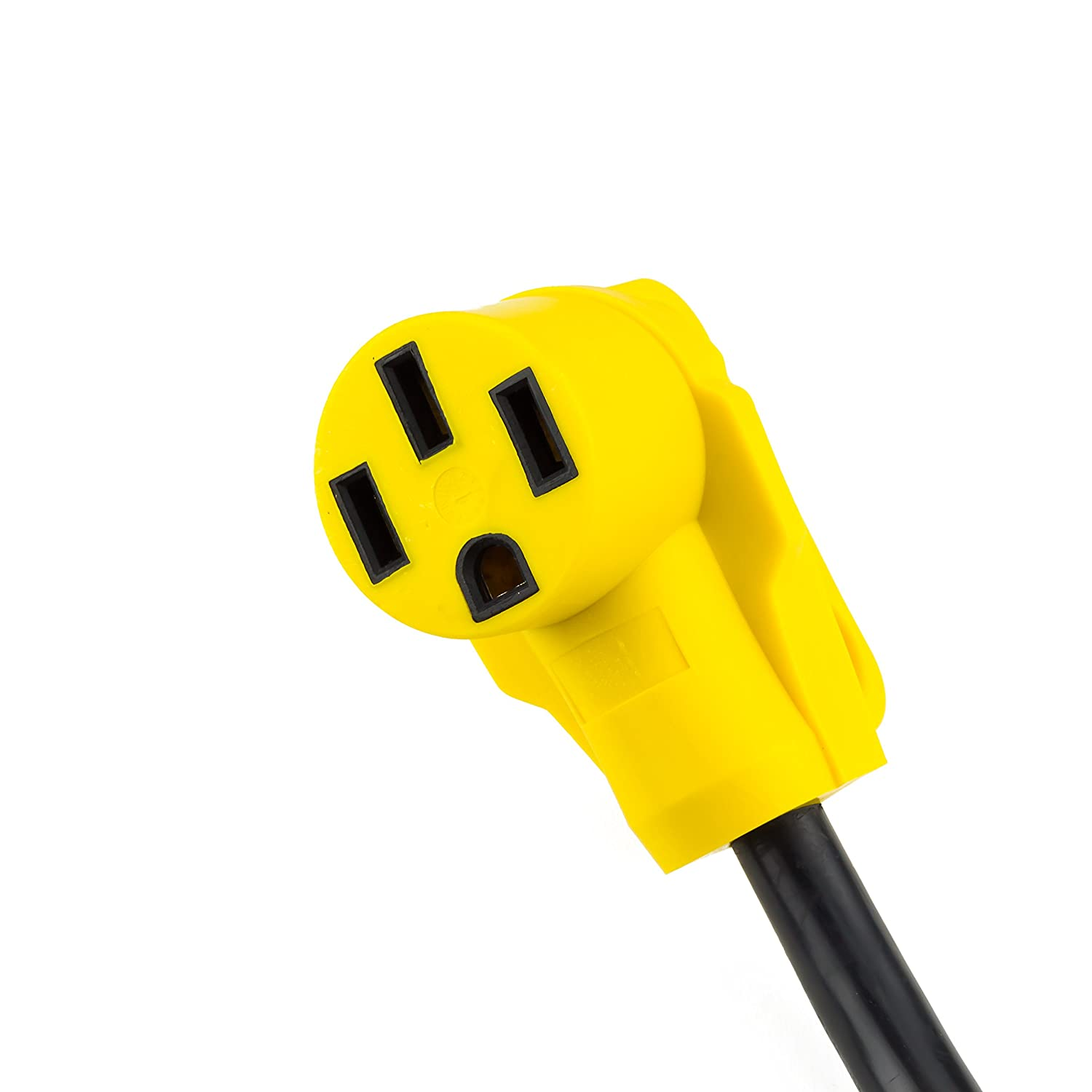 Proline Power RV Electrical Cord Adapter 15 Amp Female to 30 Amp Male with Easy Removal Handle