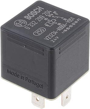 Bosch 0332209204 Mini Relais 24v 20a Ip5k4 Betriebstemperatur Von 40 Bis 85 Wechselrelais 5 Pin Relais Mit Diode Auto
