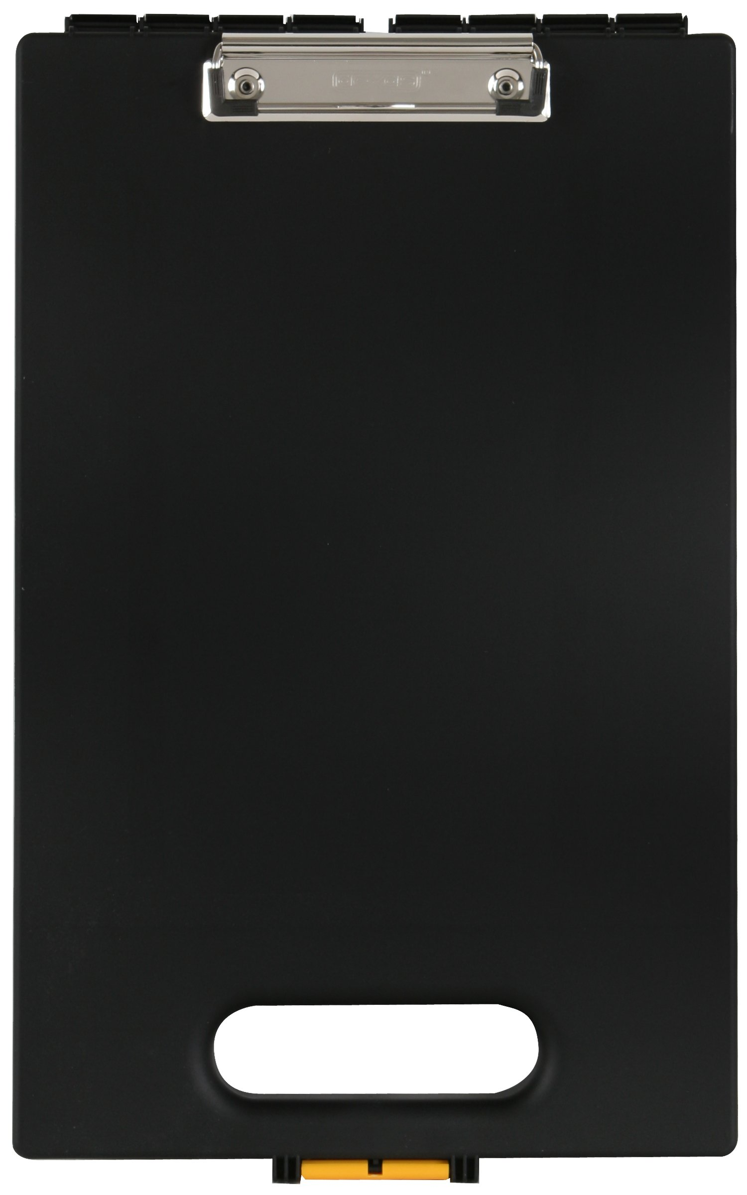Dexas Office Clipcase Storage Clipboard, Black
