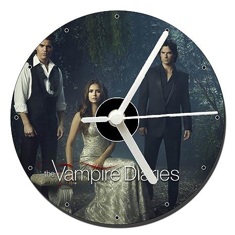 MasTazas Cronicas Vampiricas The Vampire Diaries B Reloj CD Clock 12cm