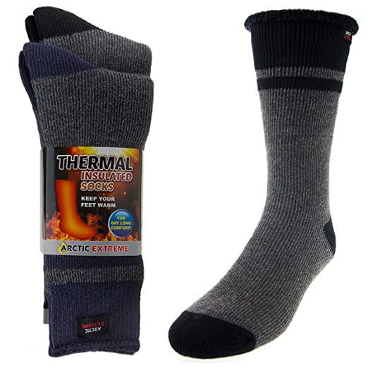 Heat Trapping Insulated Heated Boot Thermal Socks