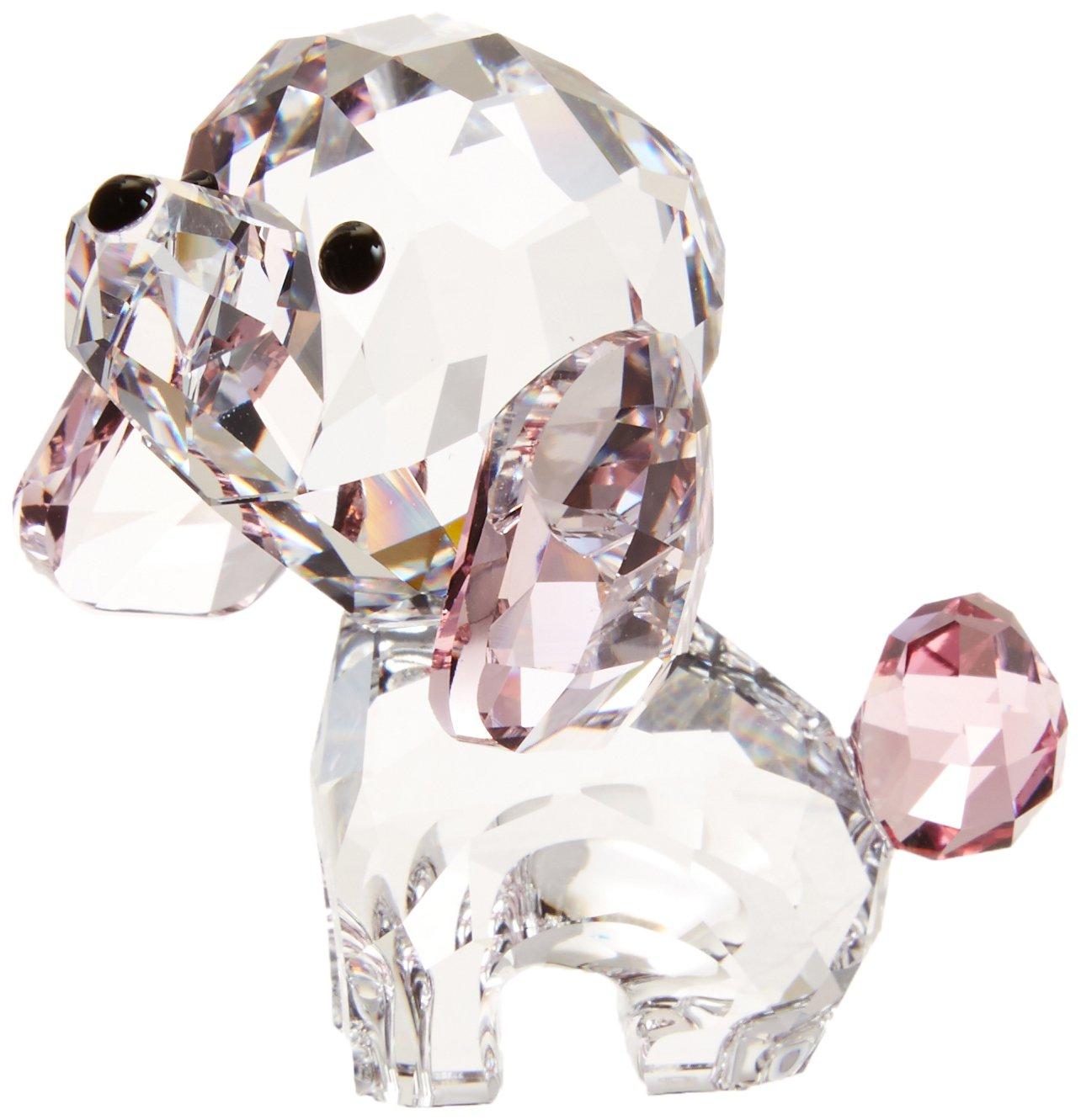 Swarovski Welpen – Rosie der Pudel, Kristall, Mehrfarbig, 4.8 x 3.8 x 2.7 cm