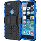 ykooe Case for iPhone 6S Phone Case, iPhone 6 Case [Heavy Duty] Tough Dual Layer Hybrid Silicon Protective Cover Armor with K