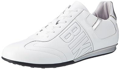Bikkembergs BKE107925, Zapatillas Hombre, Blanco, 45 EU: Amazon.es: Zapatos y complementos