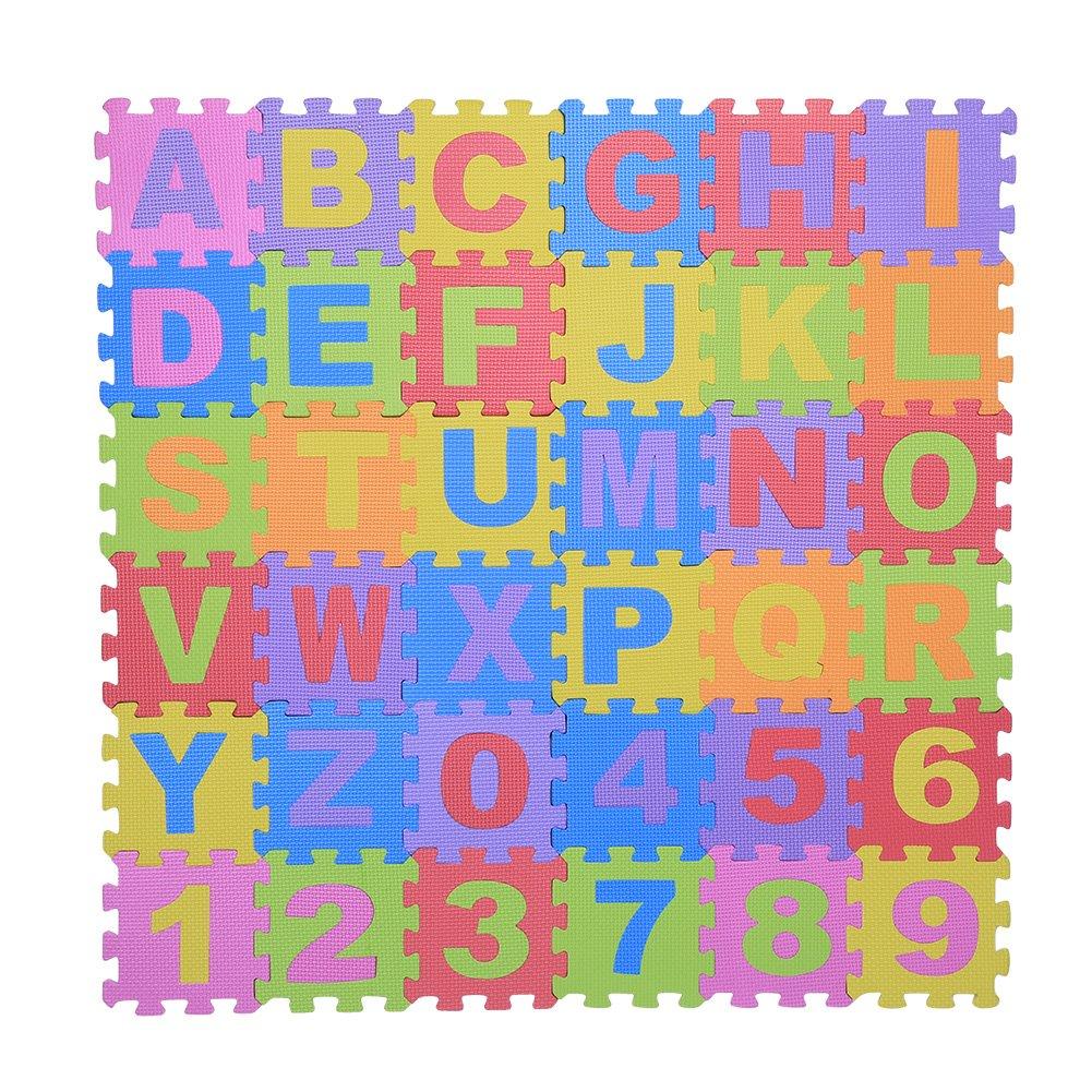 36 pcs infantile eva mousse tapis de jeu puzzle mousse. Black Bedroom Furniture Sets. Home Design Ideas