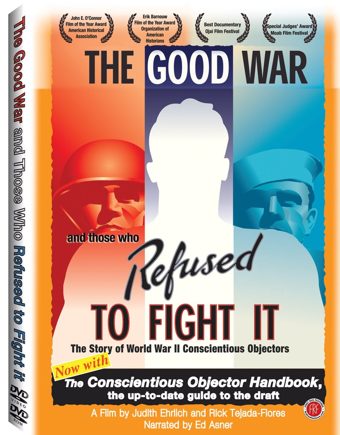 DVD : Ed Asner - The Good War And Those Who Refused To Fight It (Full Frame)