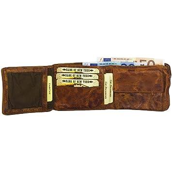 Unbekannt Billy The Kid Mate Monedero de piel, 12 cm Azul petróleo: Amazon.es: Zapatos y complementos