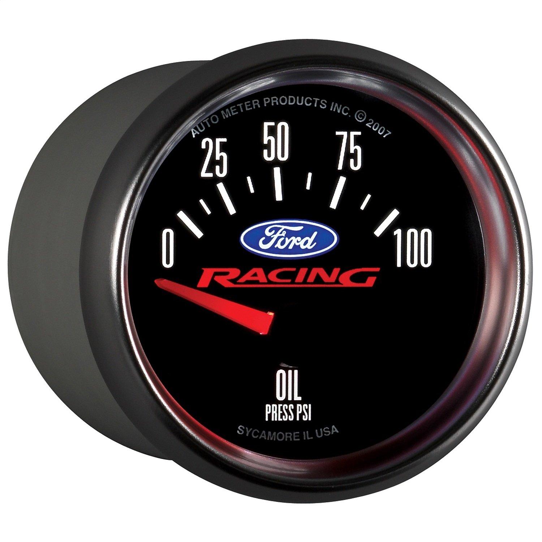 Auto Meter 880076 Ford Racing Series Electric Oil Pressure Gauge by AUTO METER