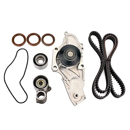 Amazon com: AUCERAMIC Timing Belt Kit Water Pump for 1999