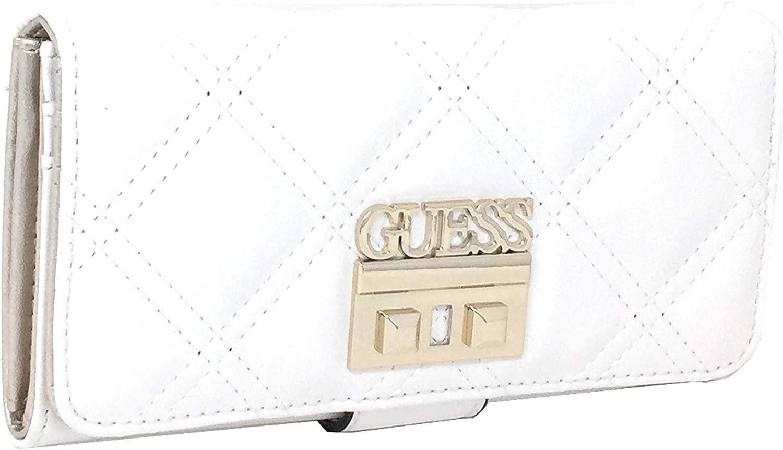 Guess Damen Status Geldbörse, grau, 20x10x2 centimeters