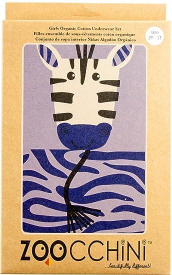 Zoocchini conjunto niña tirantes/braga diseño de cebra, lavanda 4 - 5 años: Amazon.es: Bebé
