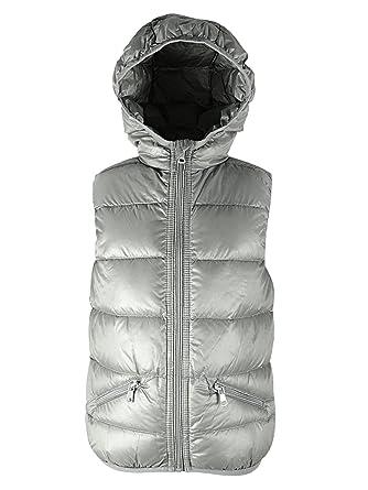 72cdc5b9f4e8 Amazon.com  American Trends Boys  Packable Windproof Down Vest Warm ...