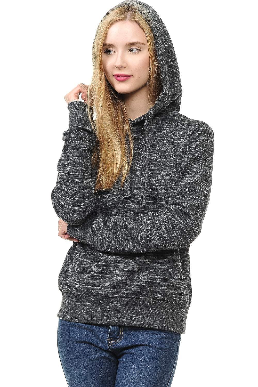 LoveInStyle Womens Basic Pullover Hoodie Fleece Jacket