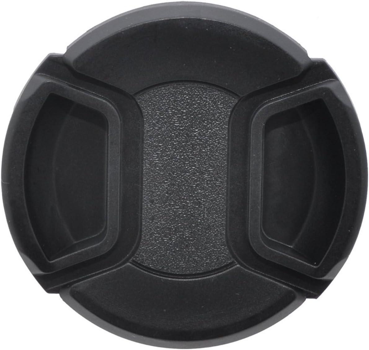 Cap Keeper 62mm Universal Snap-On Lens Cap for Nikon 70-300mm f//4-5.6G AF Nikkor SLR Camera Lens Microfiber Cleaning Cloth