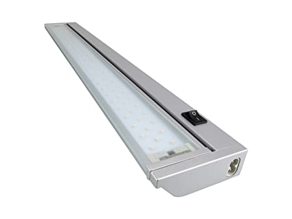 Rolux LED Unterbauleuchte 9W / warmweiß / 913mm lang, Aluminium, 9 W ...