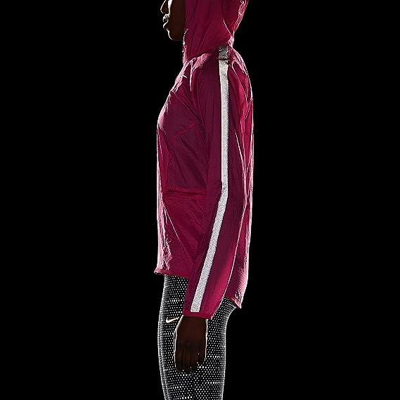 Nike Transparente tissé Course pour Femme Rose: