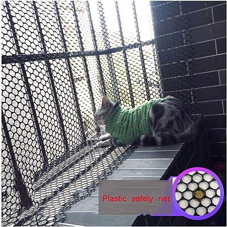 ZGQSW Redes de Cerco de Seguridad Niños Redes Anticaídas Balcones de Escalera Rede de Cría Pollos Patos Conejos Redes de Protección Césped Redes de Plástico Negro Impermeables Resistentes Al Desgaste: Amazon.es: Hogar