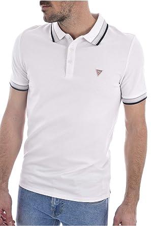 Guess Grady SS Camisa de Polo para Hombre: Amazon.es: Ropa y ...