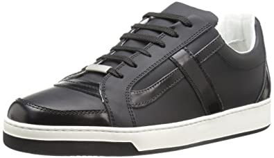 Bugatchi Men's Paris Fashion Sneaker, Nero, ...