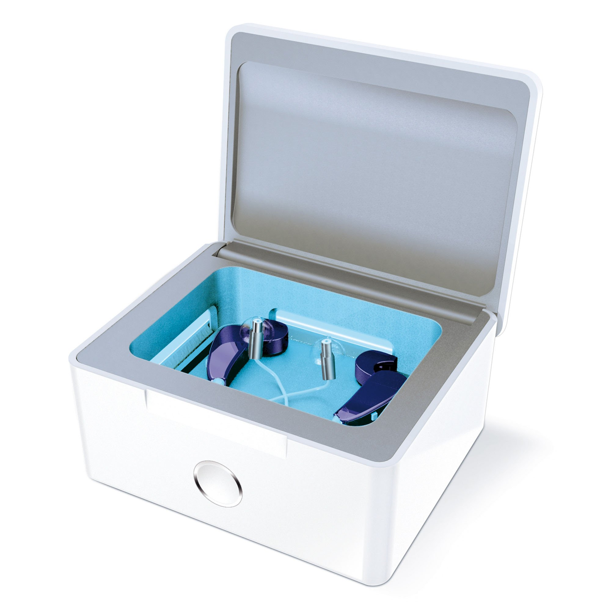 Quest Perfectdry LUX Automatic Hearing Aid UV-C Disinfecting and Cleaning System by Quest