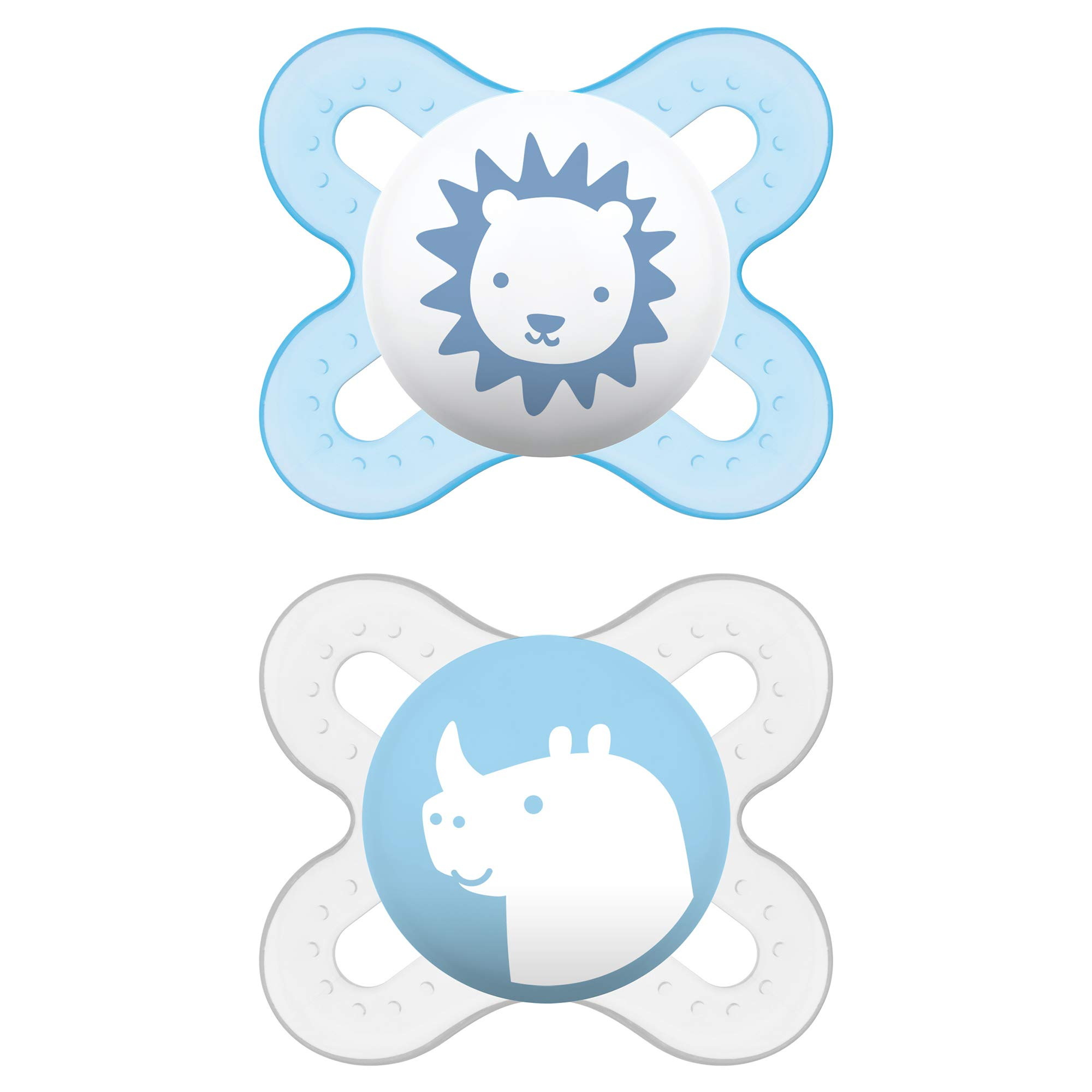 MAM Start Newborn Pacifiers (2 pack, 1 Sterilizing Pacifier Case), Newborn Baby Boy Pacifiers, Best Pacifier for…