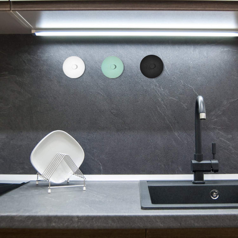 colgadores pared toallero perchero gancho adhesivo para colgar art/ículos peque/ños diarios negro, blanco, verde perchas pared 3 piezas ganchos adhesivos autoadhesivo