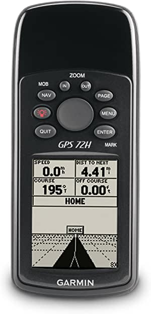 Garmin 72H Waterproof Handheld GPS with High-Sensitivity