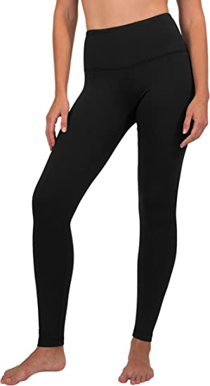 cute cheap 100% quality lower price with Amazon.com: 90 Degree By Reflex High Waist Fleece Lined Leggings ...