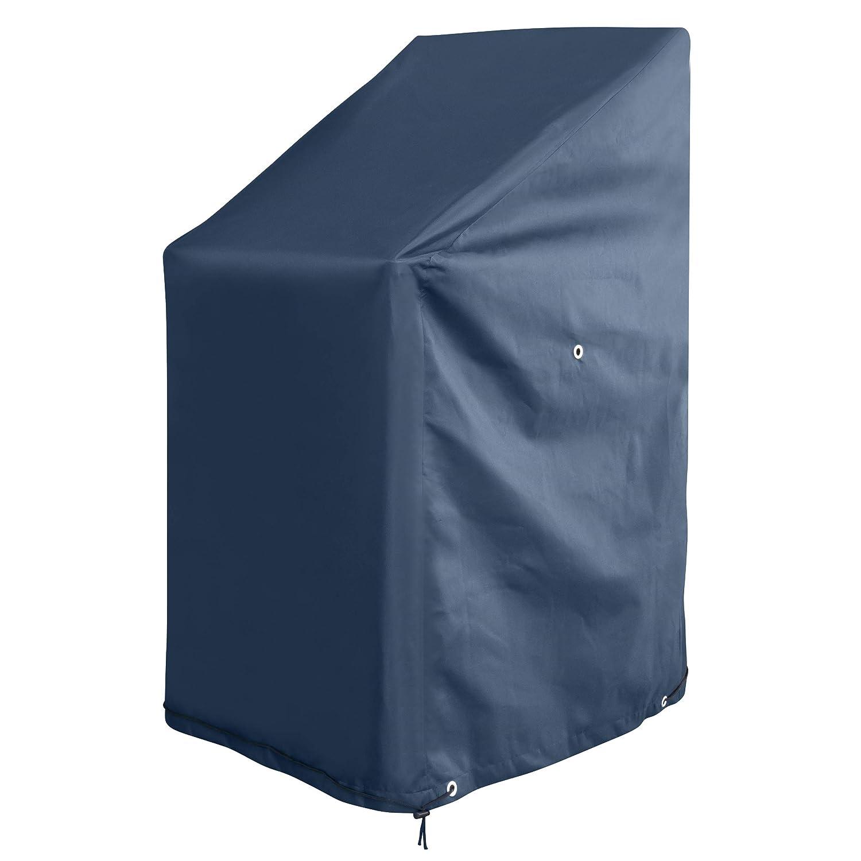 GardenMate® Coperture Per Sedie Da Esterno Da Giardino 65x65x80/120cm tessuto di Oxford 220 g/m² antracite