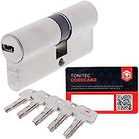 ABUS Deurcilinder slotcilinder EC550 incl. 5 sleutels incl. ToniTec CodeCard grootte 28/34mm