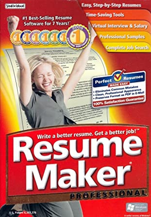resume maker professional 14 old version