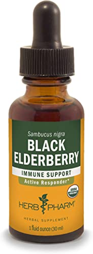 Herb Pharm Certified Organic Black Elderberry Liquid Extract