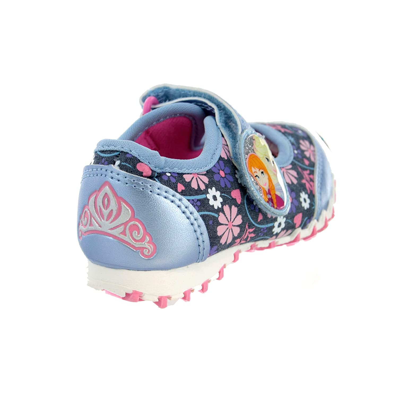 Disney Frozen Kids Girls Blue Ballet Trainers 8 Younger: Amazon.co.uk:  Shoes & Bags
