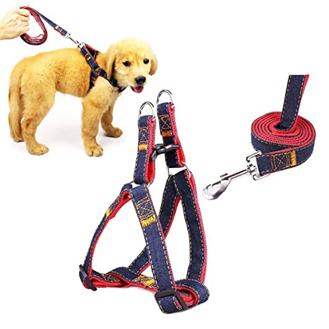 Sin chaleco Ajustable de arnés de perro Arnés de mascota de uso ...