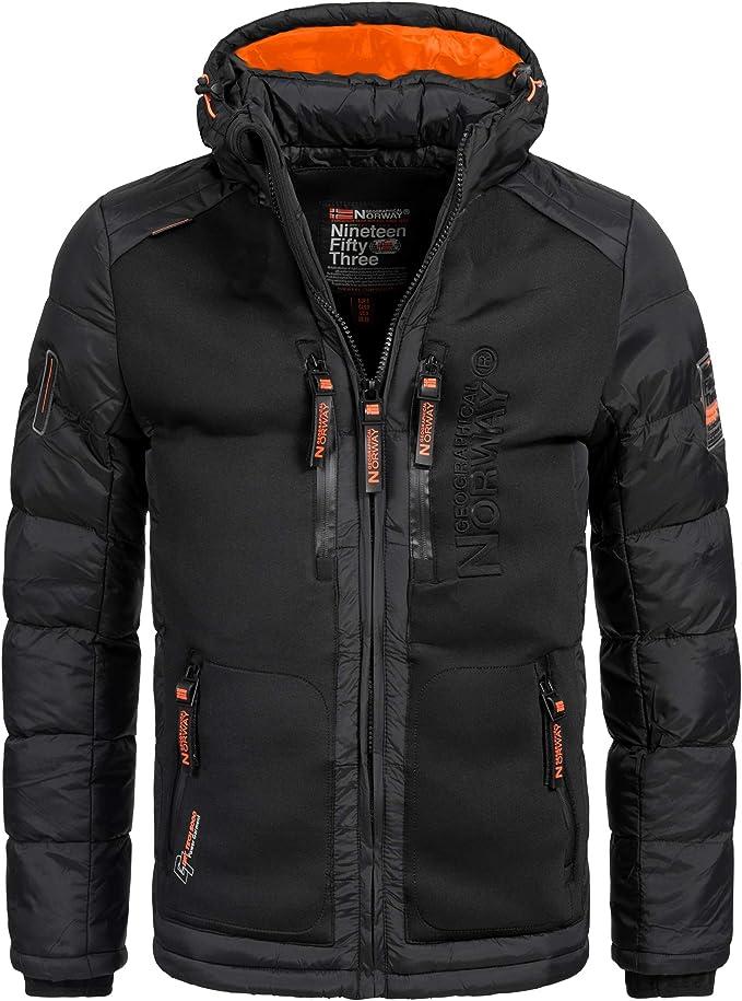 Geographical Norway BREVSTER Herren Winterjacke Jacke Outdoor Ski warm Gr. S XXXL 2 Farben