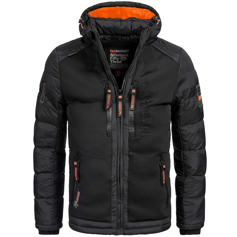Geographical Norway BREVSTER Herren Winterjacke Jacke Outdoor Ski warm Gr. S-XXXL 2-Farben
