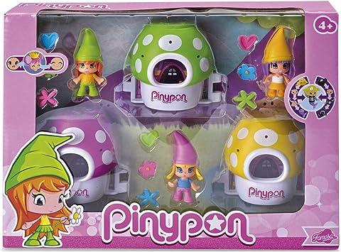 Amazon.es: Famosa - Pack 3 enanitos Pin y pon: Juguetes y juegos