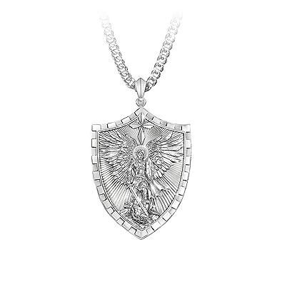 9997500d25e Men's Necklaces And Pendants: Triumph Of St. Michael Pendant ...