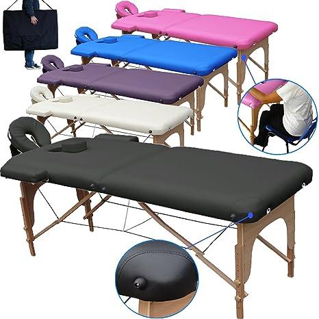 Lettino Da Massaggio Portatile 10 Kg.Lettino Da Massaggio Lettini Per Massaggi 2 Zone In Legno Portatile Pesa Solo 12 8 Kg Richiudibile Pannello Reiki Angoli Arrotondati E Rinforzati