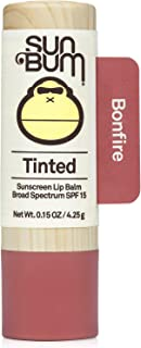 product image for Sun Bum Tinted Lip Balm Bon Fire | SPF 15 | UVA / UVB Broad Spectrum Protection | Sensitive Skin Safe | Hypoallergenic, Paraben Free | Ozybenzone Free | 0.15 Oz