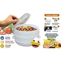 MovilCom® - Olla a vapor 2 niveles Microvap   cocinar al vapor   vaporera microondas