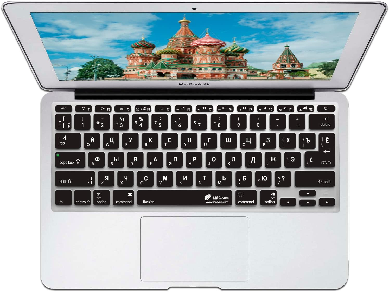 KB Covers Keyboard Cover for MacBook Air 11 - Russian (RUS-M11-CB-2)