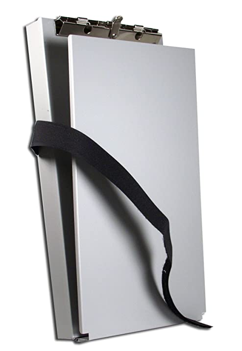 Saunders 12205 Recycled Aluminum Citation Holder II Form Holder Clipboard    6 X 11 Inches