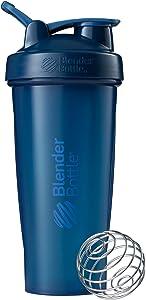 Blender Bottle Classic Loop Top Shaker Bottle, Navy/Navy